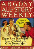 Pulps:Adventure, Argosy-All Story Weekly Group (Munsey, 1925-33) Condition: Average VG/FN. This group includes many stories by Edgar Rice Bur... (Total: 19 Items)