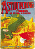 Pulps:Science Fiction, Astounding Stories Group (Clayton/Street & Smith, 1933-38)Condition: Average VG+. This large group of Astounding Stories...(Total: 54 Items)