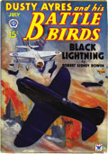 Pulps:Adventure, Dusty Ayres and His Battle Birds Group (Popular, 1934) Condition: Average FN-. Here is a nice run of 12 issues, dated from J... (Total: 12 Items)