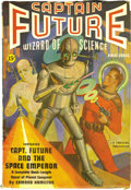 Pulps:Science Fiction, Captain Future Group (Better Publications, 1940-44) Condition:Average VG/FN. This lot includes the issues dated Winter 1940...(Total: 17 Items)