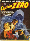Pulps:Hero, Captain Zero and Capt. Hazzard Group (Popular/Ace, 1938-50). This lot consists of issues of Captain Zero dated November ... (Total: 7 Items)