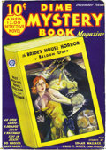 Pulps:Horror, Dime Mystery Magazine Group (Popular, 1932-33) Condition: AverageFN. This group includes the first two issues of this long-...(Total: 5 Items)