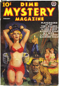 Pulps:Horror, Dime Mystery Magazine Group (Popular, 1938-40) Condition: AverageFN. Outrageous bondage and torture covers are the main att...(Total: 8 Items)