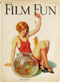 Magazines:Miscellaneous, Film Fun Group (Film Fun Publishing Co., 1923-41) Condition:Average VG. This huge lot has too many issues to be cataloged i...(Total: 84 Items)