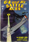Pulps:Hero, G-8 and His Battle Aces Group (Popular, 1935-42) Condition: Average V/FN. Here are the issues dated January 1935, March 1936... (Total: 15 Items)