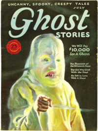 Ghost Stories Group (Macfadden, 1926-27) Condition: FN-. This big batch of oversize bedsheet-format pulps is in preterna...