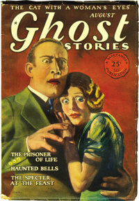 Ghost Stories Group (Macfadden, 1928-30) Condition: Average FN. This group offers the issues dated August 1928 (first pu...