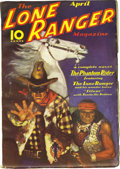 Pulps:Western, The Lone Ranger Magazine Group (Trojan Publishing, 1937) Condition: Average FN. This pulp title is considered scarce, and we... (Total: 2 Items)