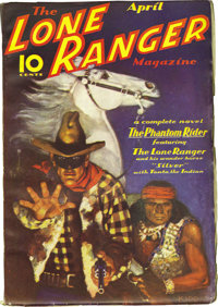The Lone Ranger Magazine Group (Trojan Publishing, 1937) Condition: Average FN. This pulp title is considered scarce, an...