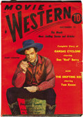 Pulps:Western, Movie Western Group Plus (Albing Publications, 1941). This lot consists of Movie Western July 1941 (VG+), October 1941 (... (Total: 5 Items)
