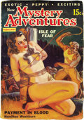 Pulps:Adventure, New Mystery Adventures Group (Movie Digest, 1935-36). Included in this lot are issues dated October 1935 (VG/FN); January 19... (Total: 5 Items)