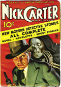 Pulps:Detective, Nick Carter Magazine Group (Street & Smith, 1933-35) Condition:Average VG/FN. Here are issues dated June 1933, July 1933, N...(Total: 8 Items)