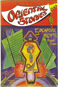 Oriental Stories Group (Popular Fiction, 1930-32). This group includes the issues dated October-November 1930 (FN), Dece...