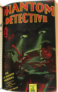Pulps:Detective, The Phantom Detective Bound Volume Group (Standard Magazines,1943-51). This lot consists of five books containing issues of...(Total: 5 Items)