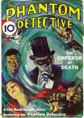 Pulps:Detective, The Phantom Detective Group (Standard Magazines, 1933-45)Condition: Average VG+. The first appearance of the PhantomDetect... (Total: 13 Items)