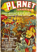 Pulps:Science Fiction, Planet Stories Group (Fiction House, 1939-55) Condition: Average VG+. This giant group lot includes nearly every issue of ... (Total: 68 Items)