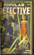 Pulps:Detective, Popular Detective Bound Volumes Group (Better Publications,1940-47). This lot consists of two bound volumes of pulps. The f...(Total: 2 Items)