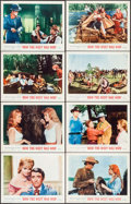 """Movie Posters:Western, How the West was Won (MGM, 1963). Lobby Card Set of 8 (11"""" X 14""""). Western.. ... (Total: 8 Items)"""