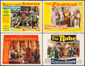 """Movie Posters:Drama, The Ten Commandments & Others Lot (Paramount, 1956). Lobby Cards (4) (11"""" X 14""""). Drama.. ... (Total: 4 Items)"""