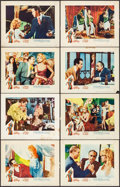 "Movie Posters:Bad Girl, A Woman Like Satan (Lopert, 1959). Lobby Card Set of 8 (11"" X 14"").Bad Girl.. ... (Total: 8 Items)"