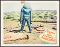 """Movie Posters:Science Fiction, Earth vs. the Flying Saucers (Columbia, 1956). Lobby Card (11"""" X14""""). Science Fiction.. ..."""