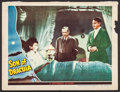 "Movie Posters:Horror, Son of Dracula (Universal, 1943). Lobby Card (10.75"" X 14"").Horror.. ..."