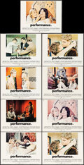 """Movie Posters:Drama, Performance (Warner Brothers, 1970). Lobby Cards (9) (11"""" X 14"""").Drama.. ... (Total: 9 Items)"""
