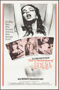 """The Seduction of Inga (Cinemation Industries, 1971). Folded, Very Fine-. One Sheets (2) (27"""" X 41""""), Lobby Car..."""