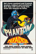 "Movie Posters:Horror, Phantom of the Paradise (20th Century Fox, 1974). One Sheet (27"" X41"") Style C, Richard Corben Artwork, Lobby Cards (4) (11...(Total: 7 Items)"