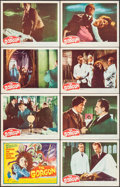 """Movie Posters:Horror, The Gorgon (Columbia, 1964). Lobby Card Set of 8 (11"""" X 14"""").Horror.. ... (Total: 8 Items)"""