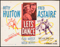"""Movie Posters:Musical, Let's Dance & Other Lot (Paramount, 1950). Half Sheets (2) (22"""" X 28"""") Style A, & Lobby Cards (4) (11"""" X 14""""). Musical.. ... (Total: 6 Items)"""
