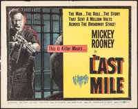 """The Last Mile (United Artists, 1959). Half Sheets (2) (22"""" X 28"""") A & B Styles. Thriller. ... (Total: 2 It..."""