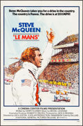 """Movie Posters:Sports, Le Mans (National General, 1971). One Sheet (27"""" X 41"""") Tom Jung Artwork, & Lobby Card (11"""" X 14""""). Sports.. ... (Total: 2 Items)"""