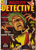 Pulps:Miscellaneous, Miscellaneous Detective Pulp Group (Various, 1934-46). This group includes Bull's-Eye Detective Fall 1938 (#1) (FN-); ... (Total: 8 Items)