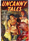 "Pulps:Miscellaneous, Miscellaneous Horror Pulp Group (Various, 1936-48). This nice group of ""weird menace"" pulps consists of Ace Mystery Magazi... (Total: 6 Items)"