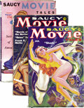 Pulps:Detective, Saucy Movie Tales Group (Movie Digest, 1936-38). This three-issue group consists of the issues dated January 1936 (second is... (Total: 3 Items)