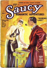 Saucy Romantic Adventures May 1936 (#1) (Fiction Magazines, 1936) Condition: VG+. Here is the first issue of this rare p...