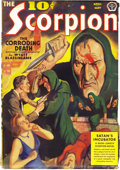 Pulps:Hero, The Scorpion April-May 1939 (Popular, 1939) Condition: FN-. This one-issue pulp series was the sequel to the equally collect...