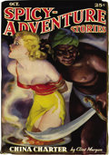Pulps:Adventure, Spicy Adventure Stories Group (Culture, 1936-37) Condition: Average FN/VF. This spicy group should put some sweat on you... (Total: 3 Items)