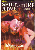Pulps:Adventure, Spicy-Adventure Stories Group (Culture, 1936). A small group of Spicy pulps in absolutely wonderful condition! They are ... (Total: 3 Items)