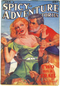 Pulps:Adventure, Spicy-Adventure Stories Group (Culture, 1937-38). Here's another small group of top-condition Spicy pulps. Included are ... (Total: 3 Items)