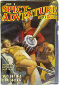 Pulps:Adventure, Spicy-Adventure Stories Group (Culture, 1939-41) Condition: Average VG+. This lot consists of issues dated December 1939, Ja... (Total: 7 Items)