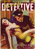 Pulps:Detective, Spicy Detective Stories Group (Culture, 1935-42). Here's afantastic group of detective pulps with that spicy flavor.In... (Total: 8 Items)