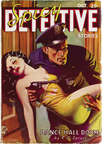 Spicy Detective Stories Group (Culture, 1935-42). Here's a fantastic group of detective pulps with that spicy flavor. In...