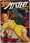 Pulps:Horror, Spicy Mystery Group (Culture, 1936-38). Here are three issues cover-dated December 1936 (VG/FN), May 1938 (VG/FN), and Octob... (Total: 3 Items)