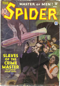The Spider Group (Popular, 1935-36) Condition: Average VG. This group includes the following issues: April 1935, May 193...