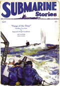 "Pulps:Adventure, Submarine Stories Group (Dell, 1929-30). Bookery's Guide to Pulps says this is ""among the rarest of all pulp titles."" Of... (Total: 2 Items)"
