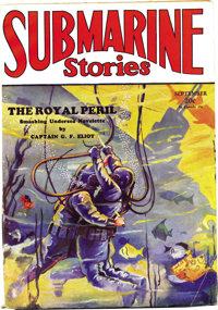 Submarine Stories Group (Dell, 1929-30) Condition: Average VG/FN. This group consists of two very nice copies of this ex...