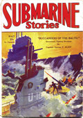 Pulps:Adventure, Submarine Stories Group (Dell, 1930). Two nice issues of this rare title, dated May 1930 (VG/FN) and July 1930 (GD/VG). Page... (Total: 2 Items)