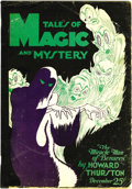 Pulps:Horror, Tales of Magic and Mystery Group (Personal Arts Company, 1927-28). This group consists of the complete five-issue run of thi... (Total: 5 Items)
